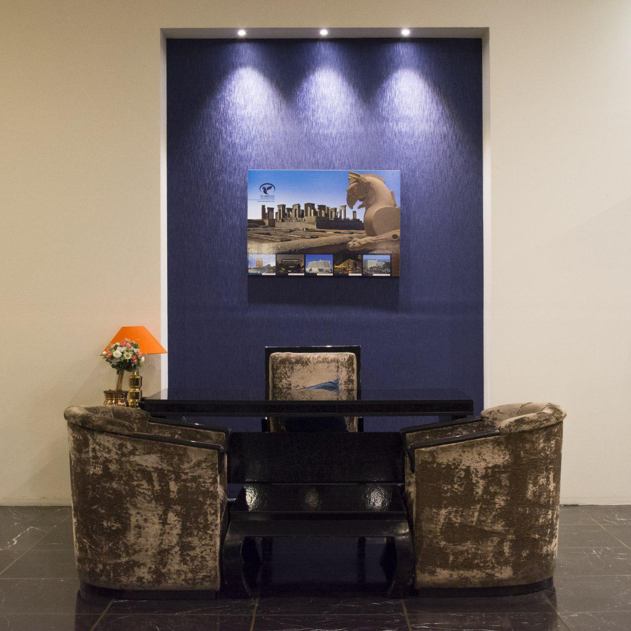 طراحي و چيدمان هتل هما تهران